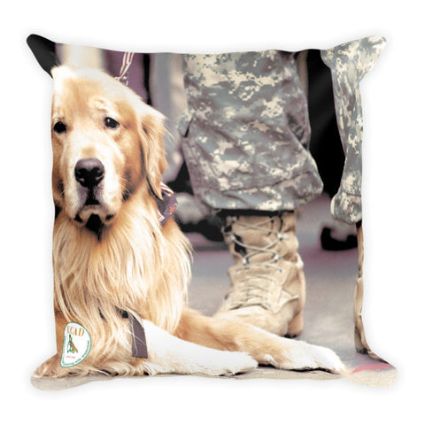 Proud to be a Service Dog Pillow