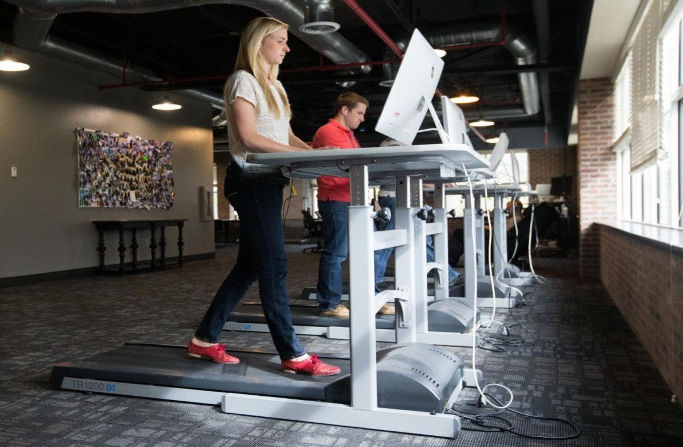Treadmill Desks May Be Quirky, But People Love Them