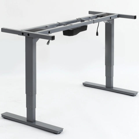 samson extendable height adjustable desk frame 40 63