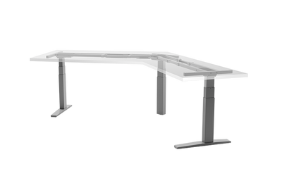 Samson Tri-leg Height Adjustable Desk Frame