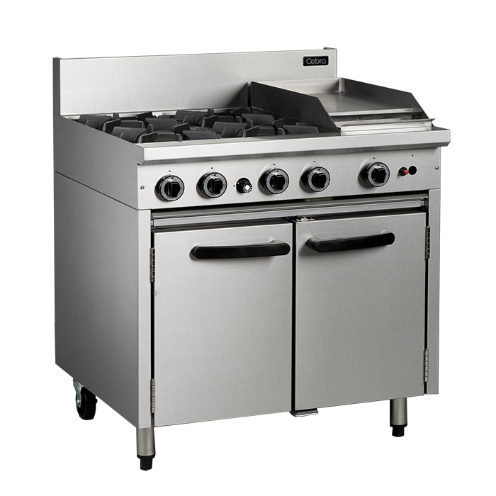 cb759d9f73d Cobra 900mm Gas Range with Gas Static Oven