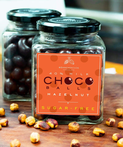 Image of Sugar-free milk chocolate coated nuts - Healtholicious One-Stop Biohacking Health Shop