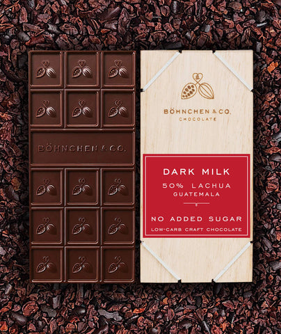 Image of Sugar-Free Milk Chocolate Bars: keto-friendly - Healtholicious One-Stop Biohacking Health Shop