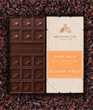 Sugar-Free Milk Chocolate Bars - Healtholicious One-Stop Biohacking Health Shop