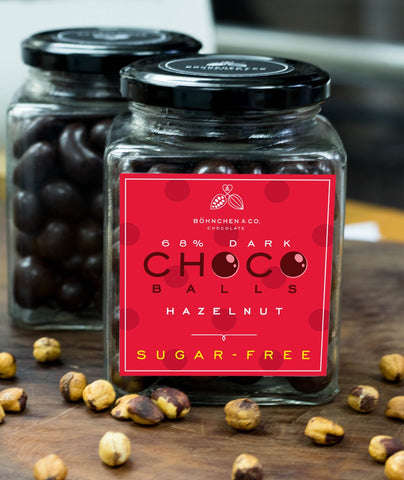 Image of Sugar-free dark chocolate coated nuts: keto-friendly - Healtholicious One-Stop Biohacking Health Shop