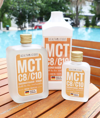 Image of KETO PLUS+ PURE MCT: Coconut MCT oil (Made in Germany) - Healtholicious One-Stop Biohacking Health Shop