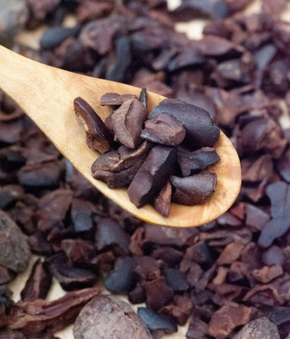 Image of Certified organic cacao nibs (Semuliki Forest, Uganda) 200g - Healtholicious One-Stop Biohacking Health Shop