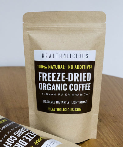 Instant Organic Coffee for Biohackers: Light Roast - Healtholicious One-Stop Biohacking Health Shop