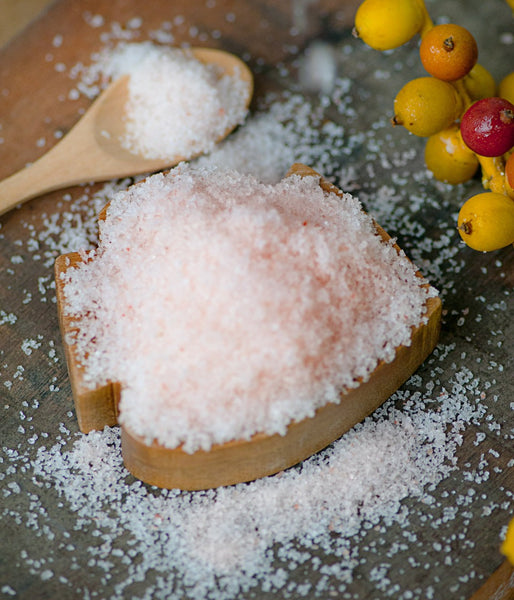 [A+++ Quality] Dark Pink Himalayan Salt  - Fine Grain - HIGH IRON
