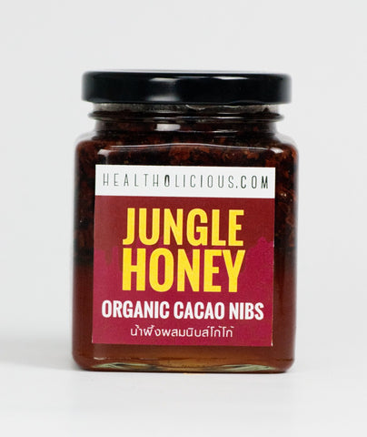 Raw jungle honey infused organic cocoa nibs - Healtholicious One-Stop Biohacking Health Shop
