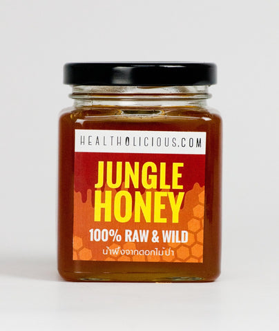 Image of Raw Jungle Honey from Wild Flowers 360g - Healtholicious One-Stop Biohacking Health Shop