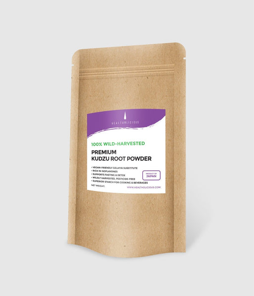 Premium Japanese kudzu starch (arrowroot powder) - Healtholicious Co. Ltd.