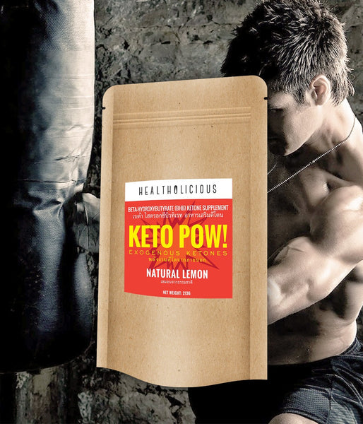 Keto Pow : Exogenous Ketones (BHB salts) - Healtholicious One-Stop Biohacking Health Shop