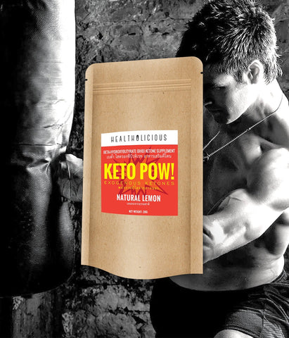 Image of Keto Pow : Exogenous Ketones (BHB salts) - Healtholicious One-Stop Biohacking Health Shop