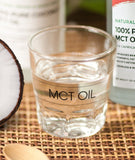 KETO PLUS+ PURE MCT: Coconut MCT oil (Made in Germany) - Healtholicious One-Stop Biohacking Health Shop