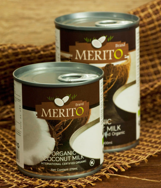 ORGANIC COCONUT MILK (USDA CERTIFIED) BY MERIT