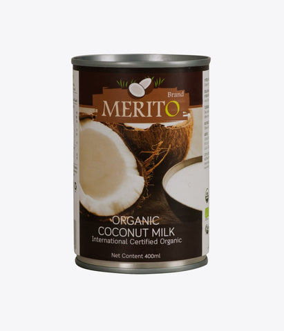 Image of Certified organic coconut milk (270ml and 400ml) - Healtholicious One-Stop Biohacking Health Shop