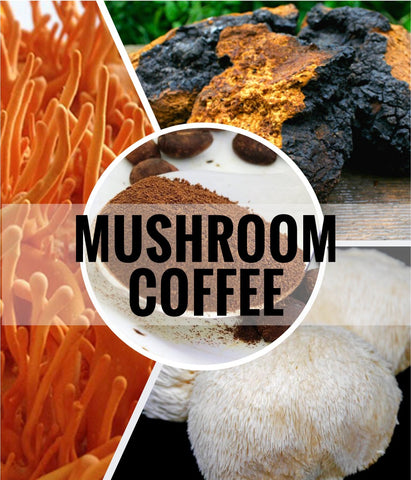 Image of Mushroom Coffee - Certified Organic : ENERGY / IMMUNE / ULTIMA - Healtholicious One-Stop Biohacking Health Shop