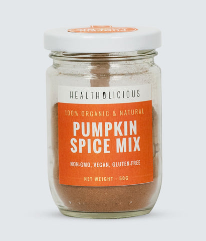 Image of Organic Pumpkin Pie Spice Mix (cinnamon, nutmeg, clove & ginger) - Healtholicious One-Stop Biohacking Health Shop