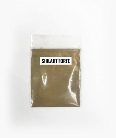 Shilajit Forte : Fulvic Acid / Trace Mineral Complex (2-month supply) - Healtholicious One-Stop Biohacking Health Shop