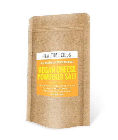 Image of Vegan Cheese Powdered Salt - All-Natural Seasoning Mix - Healtholicious One-Stop Biohacking Health Shop