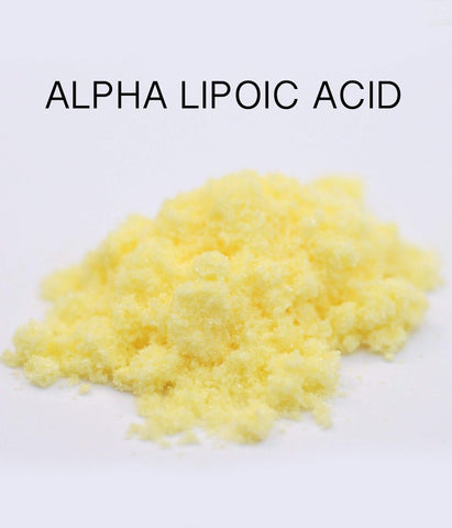 Alpha lipoic acid powder (65mg, 60 veggie capsules) - Healtholicious One-Stop Biohacking Health Shop