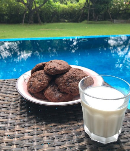 Keto Chocolate Cookie Mix - Soft & Chewy ! - Healtholicious One-Stop Biohacking Health Shop