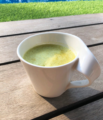 Image of Organic Matcha Turmeric Tea (Japan/Sri Lanka) 75g - Healtholicious One-Stop Biohacking Health Shop