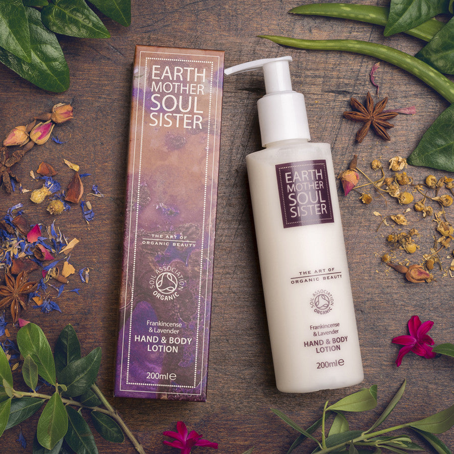 FRANKINCENSE & LAVENDER  HAND & BODY LOTION