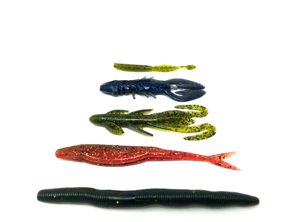 Fish the Spawn with Soft Plastics