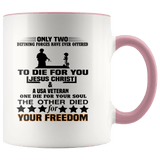 Patriotic - To Die For You Veteran Mugs #2 (7 Colors) - The Shoppers Outlet