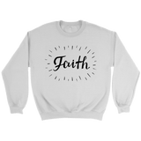 Faith Crewneck Sweatshirts - The Shoppers Outlet