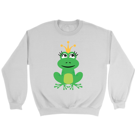 Crown Frog Crewneck Sweatshirts (7 Colors) - The Shoppers Outlet