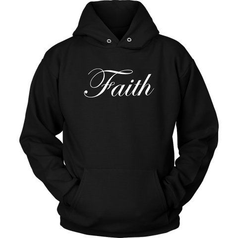 Faith Script Hoodies - The Shoppers Outlet