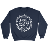 Love Covers All Crewneck Sweatshirts - The Shoppers Outlet