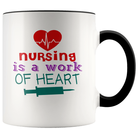 Nurses - Nursing Is A Accent Mugs - The Shoppers Outlet