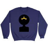 Afro Shadow Queen Crewneck Sweatshirts (7 Colors) - The Shoppers Outlet