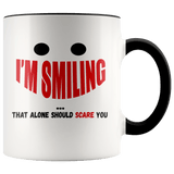 Fun - I'm Smiling Accent Mugs - The Shoppers Outlet