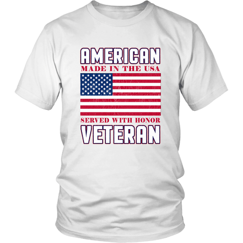 American Veteran Tee Shirts (10 Colors) - The Shoppers Outlet