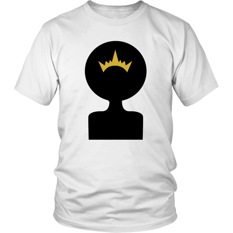 Afro Shadow Queen Tee Shirts - The Shoppers Outlet