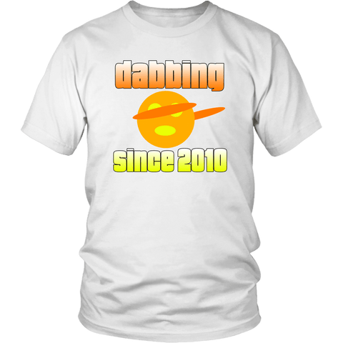 Dabbing Since 2010 Tee Shirts (10 Colors) - The Shoppers Outlet