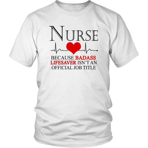 Nurse Job Title Tee Shirts (8 Colors) - The Shoppers Outlet