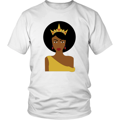 Afro Queen Tee Shirts (9 Colors) - The Shoppers Outlet