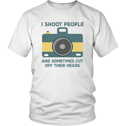Photographer Shoot People Tee Shirts (8 Colors) - The Shoppers Outlet