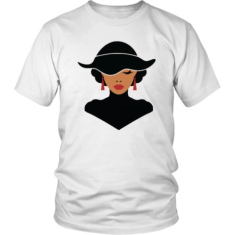 Classic African American Woman Tee Shirts - The Shoppers Outlet