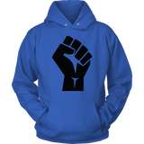 Black Power Fist Hoodies (9 Colors) - The Shoppers Outlet
