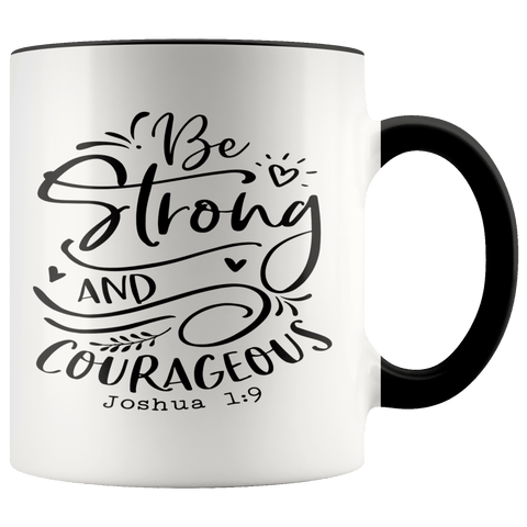 Joshua 1:9 Mugs (7 Colors) - The Shoppers Outlet