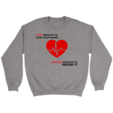 Nurses Cute n Skilled Enough Crewneck Sweatshirts - The Shoppers Outlet