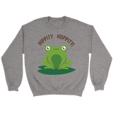 Funny Frog Lovers Crewneck Sweatshirts (4 Colors) - The Shoppers Outlet