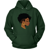 Natural Hair Beauty Hoodies - The Shoppers Outlet